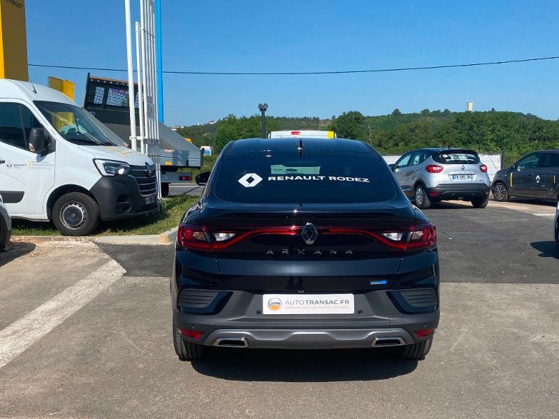 Renault Arkana 1.3 TCe 140ch RS Line EDC -21B Noir occasion à Aurillac - photo n°5