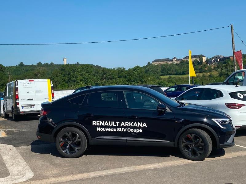 Renault Arkana 1.3 TCe 140ch RS Line EDC -21B Noir occasion à Aurillac - photo n°3