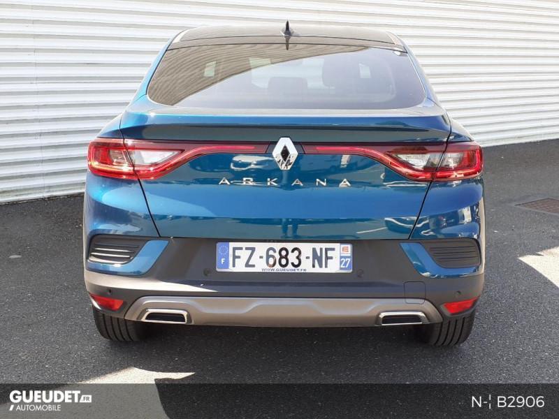Renault Arkana 1.3 TCe 140ch RS Line EDC Bleu occasion à Pont-Audemer - photo n°3