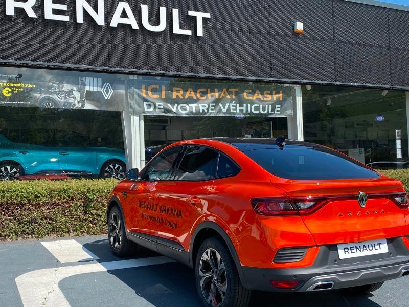 Renault Arkana 1.6 E-Tech 145ch RS Line -21B Orange occasion à Aurillac - photo n°7
