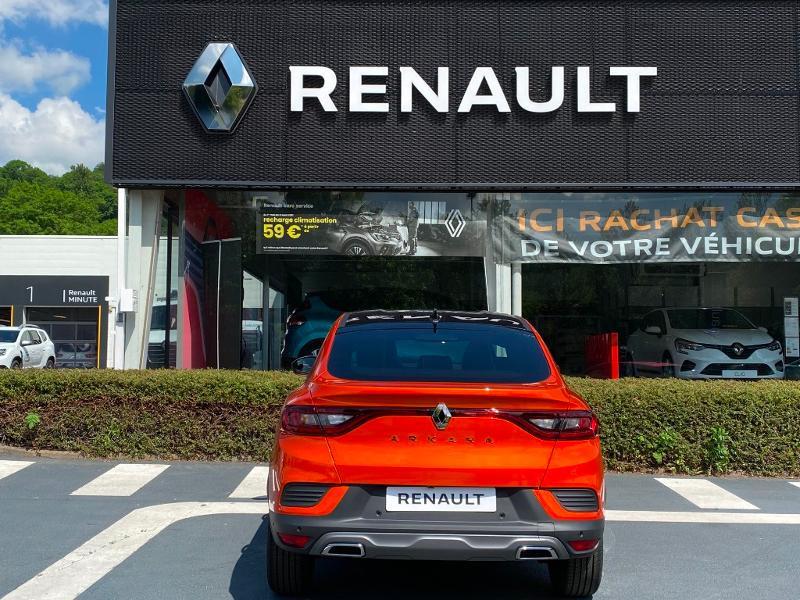 Renault Arkana 1.6 E-Tech 145ch RS Line -21B Orange occasion à Aurillac - photo n°5