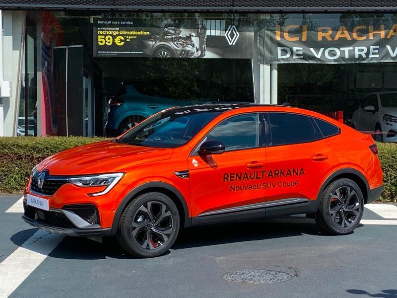 Renault Arkana 1.6 E-Tech 145ch RS Line -21B Orange occasion à Aurillac