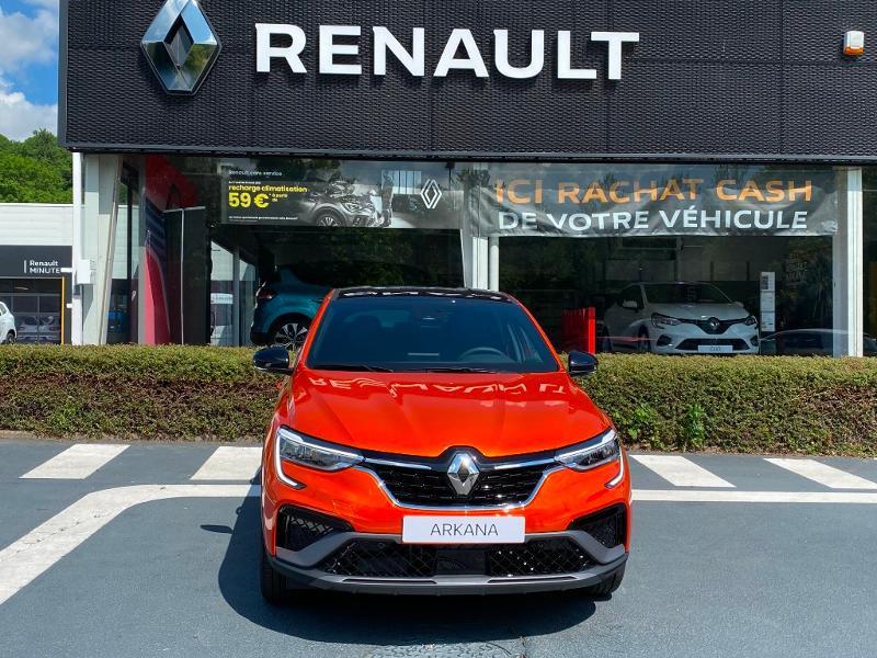 Renault Arkana 1.6 E-Tech 145ch RS Line -21B Orange occasion à Aurillac - photo n°2