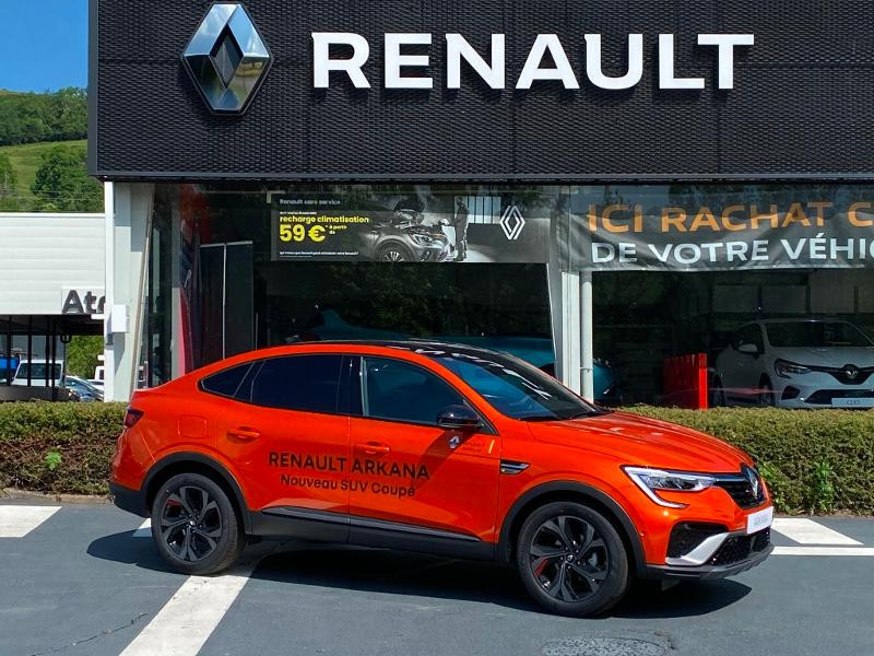 Renault Arkana 1.6 E-Tech 145ch RS Line -21B Orange occasion à Aurillac - photo n°3