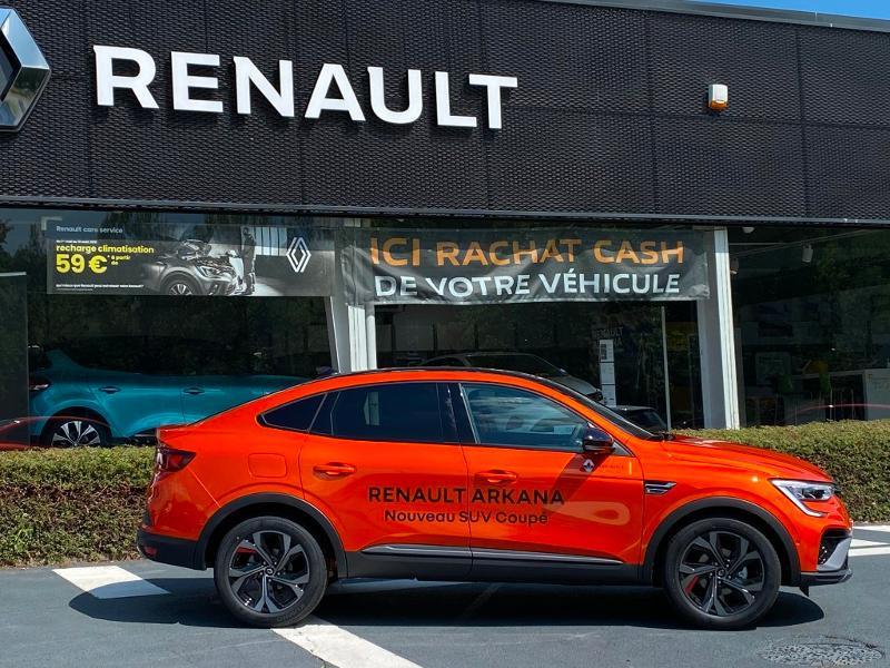 Renault Arkana 1.6 E-Tech 145ch RS Line -21B Orange occasion à Aurillac - photo n°6