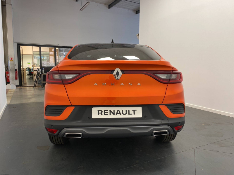 Renault Arkana Arkana TCe 140 EDC FAP R.S. Line 5p Orange occasion à Oloron St Marie - photo n°4
