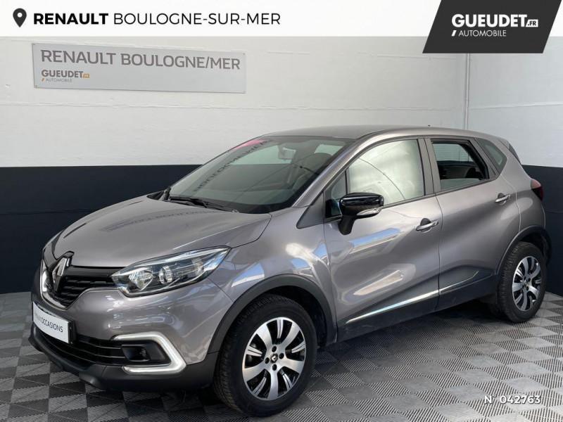 Renault Captur 0.9 TCe 90ch energy Business Gris occasion à Boulogne-sur-Mer