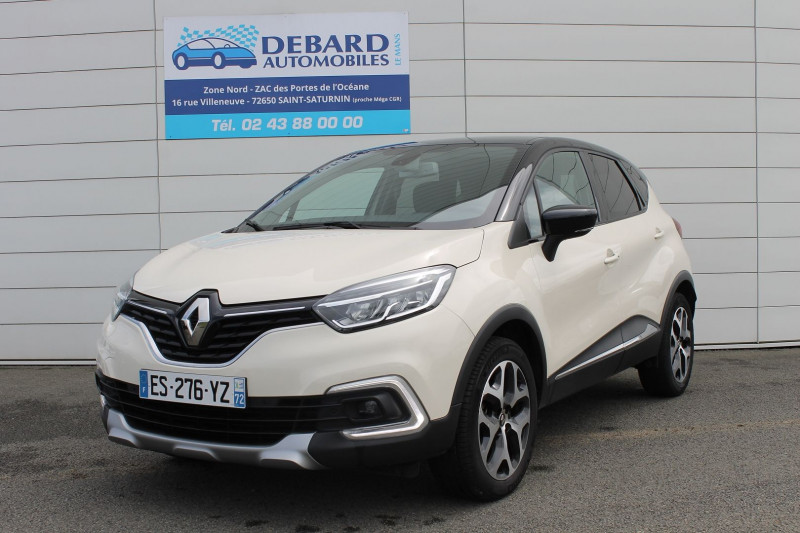 Renault Captur 0.9 TCE 90CH ENERGY INTENS Blanc occasion à Saint-Saturnin - photo n°3
