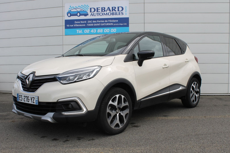 Renault Captur 0.9 TCE 90CH ENERGY INTENS Blanc occasion à Saint-Saturnin