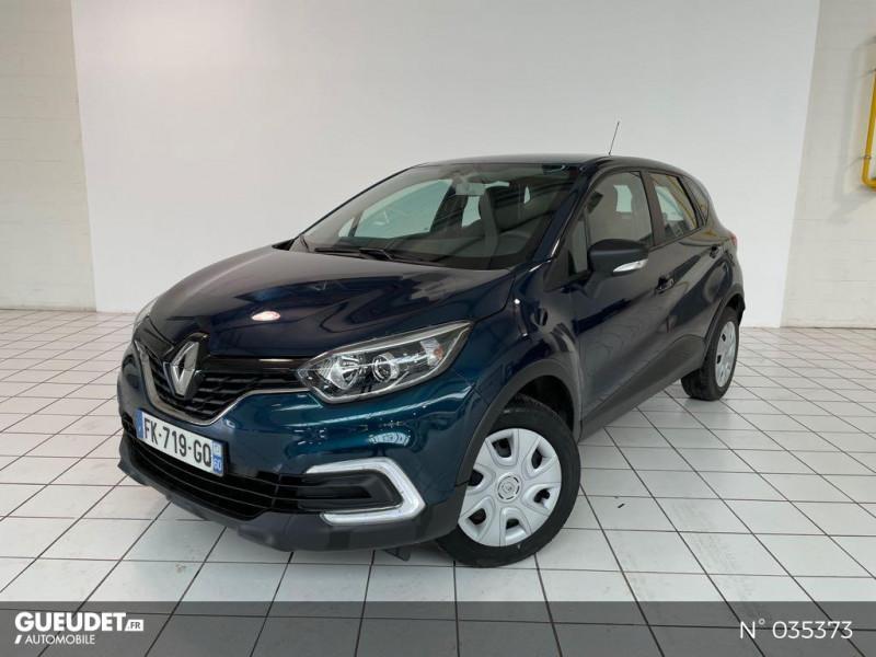Renault Captur 0.9 TCe 90ch energy Life Euro6c Bleu occasion à Beauvais
