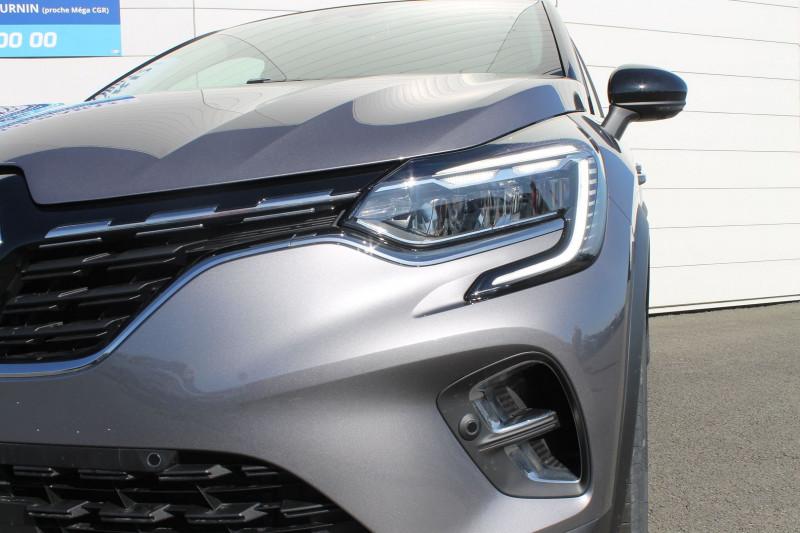 Renault Captur 1.0 TCE 100CH INTENS - 20 Gris occasion à Saint-Saturnin - photo n°2