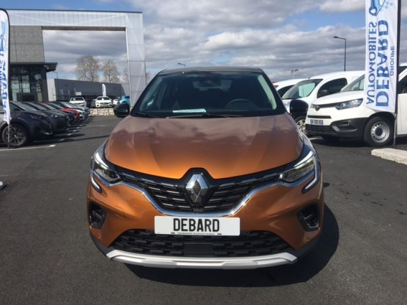 Renault Captur 1.0 TCE 100CH INTENS - 20 Orange occasion à Mées