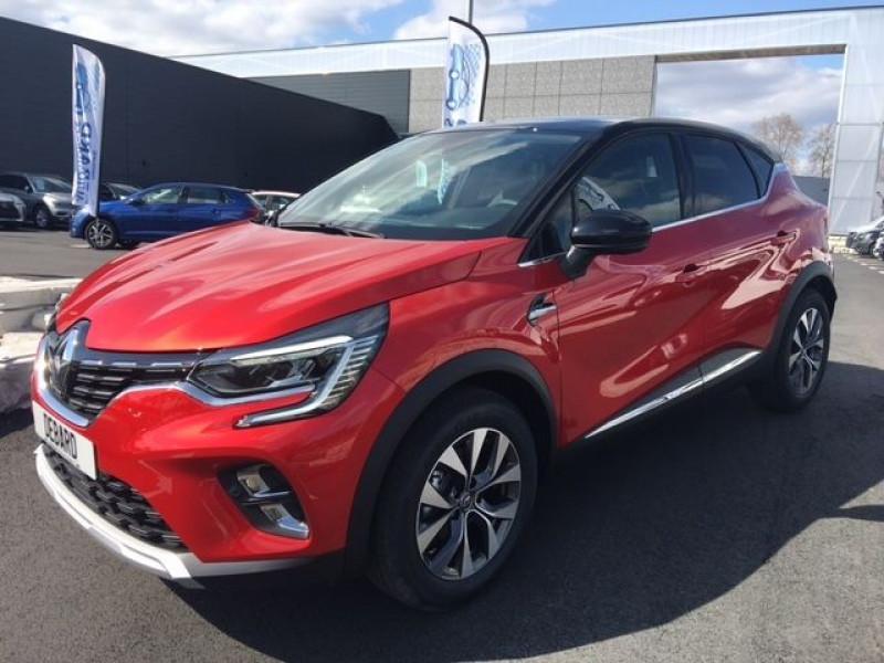 Renault Captur 1.0 TCE 100CH INTENS - 20 Rouge occasion à Mées - photo n°2