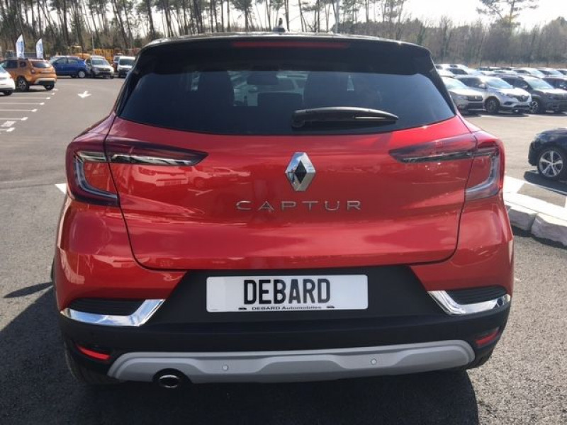 Renault Captur 1.0 TCE 100CH INTENS - 20 Rouge occasion à Mées - photo n°4