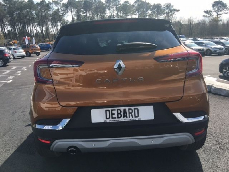 Renault Captur 1.0 TCE 100CH INTENS - 20 Orange occasion à Mées - photo n°4