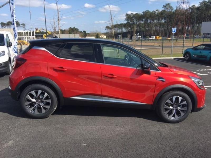Renault Captur 1.0 TCE 100CH INTENS - 20 Rouge occasion à Mées - photo n°3