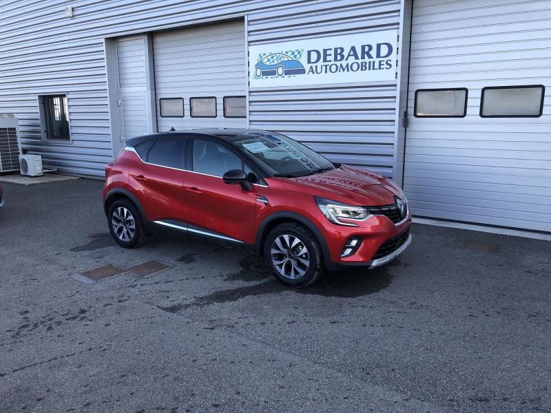 Renault Captur 1.0 TCE 100CH INTENS - 20 Rouge occasion à Onet-le-Château