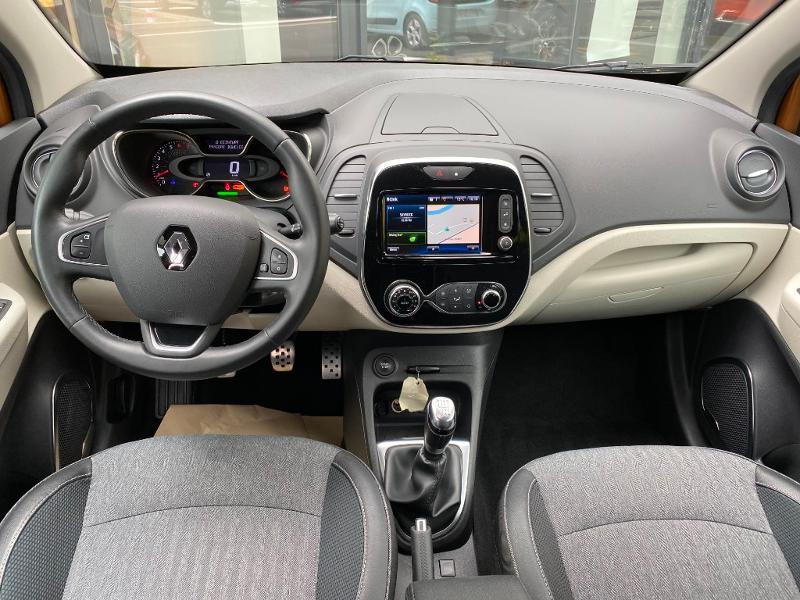 Renault Captur 1.2 TCe 120ch energy Intens Orange occasion à Figeac - photo n°3