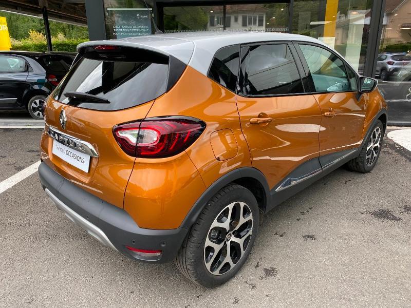 Renault Captur 1.2 TCe 120ch energy Intens Orange occasion à Figeac - photo n°2