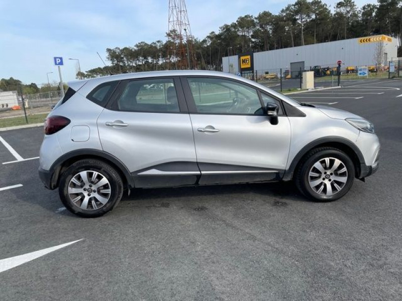 Renault Captur 1.2 TCE 120CH ENERGY ZEN EDC Argent occasion à Mées - photo n°8
