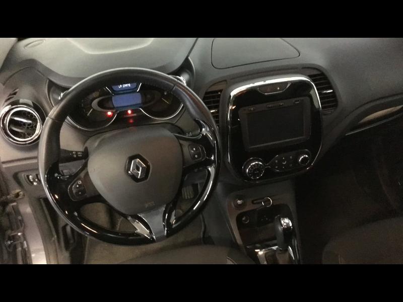 Renault Captur 1.2 TCe 120ch Stop&Start energy Intens EDC Euro6 2015 Noir occasion à Aurillac - photo n°6