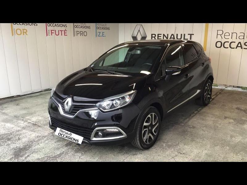 Renault Captur 1.2 TCe 120ch Stop&Start energy Intens EDC Euro6 2015 Noir occasion à Aurillac