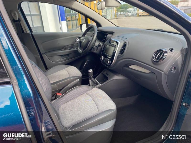 Renault Captur 1.3 TCe 130ch FAP Business Bleu occasion à Neufchâtel-en-Bray - photo n°4