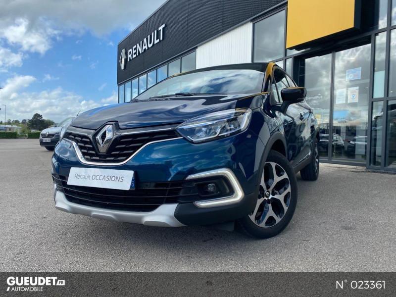 Renault Captur 1.3 TCe 130ch FAP Business Bleu occasion à Neufchâtel-en-Bray