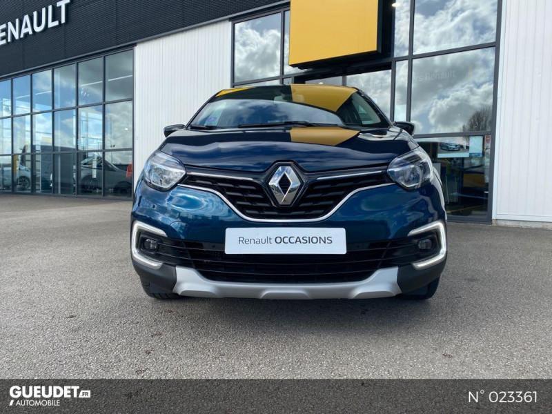 Renault Captur 1.3 TCe 130ch FAP Business Bleu occasion à Neufchâtel-en-Bray - photo n°2