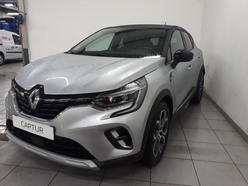 Renault Captur 1.3 TCe 130ch FAP Intens EDC Gris occasion à QUIMPER - photo n°2