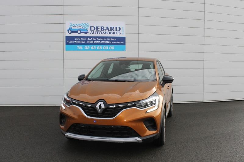 Renault Captur 1.3 TCE 130CH FAP ZEN EDC Orange occasion à Saint-Saturnin - photo n°2