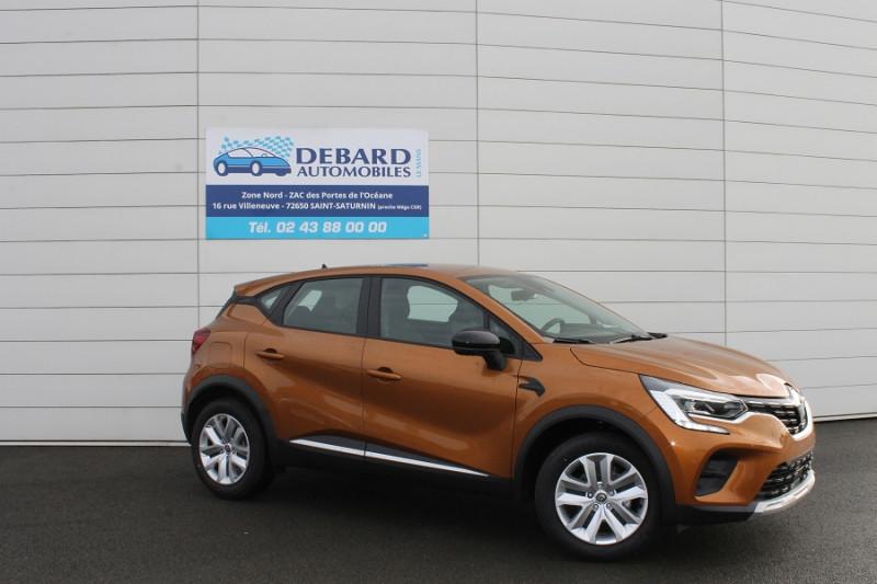 Renault Captur 1.3 TCE 130CH FAP ZEN EDC Orange occasion à Saint-Saturnin