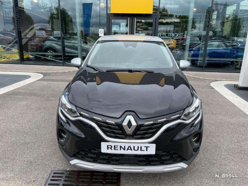 Renault Captur 1.3 TCe 140ch Intens EDC Noir occasion à Persan - photo n°2