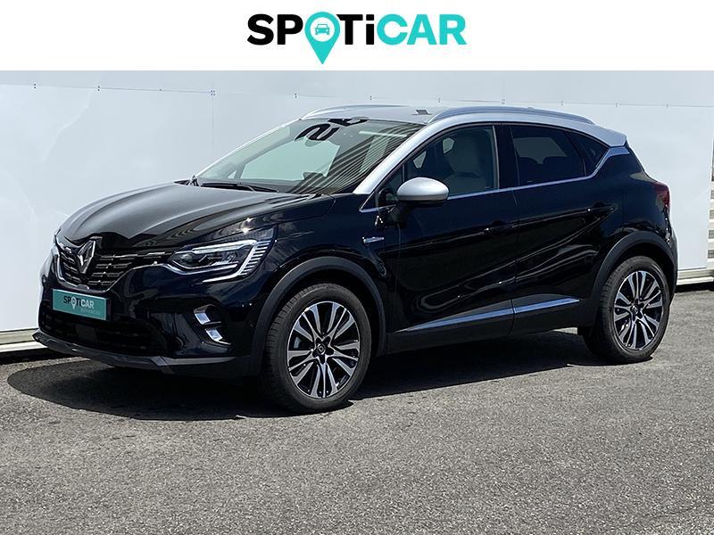 Renault Captur 1.5 Blue dCi 115ch Initiale Paris EDC Noir occasion à Lescar