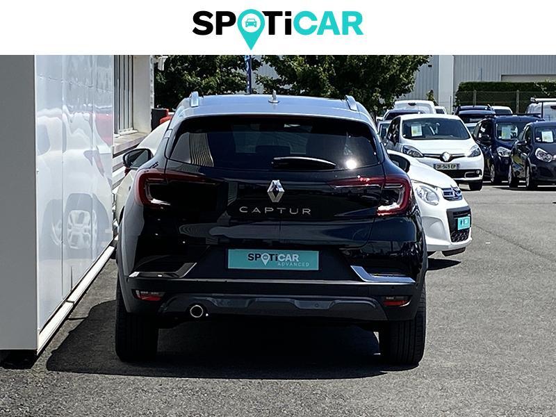 Renault Captur 1.5 Blue dCi 115ch Initiale Paris EDC Noir occasion à Lescar - photo n°5