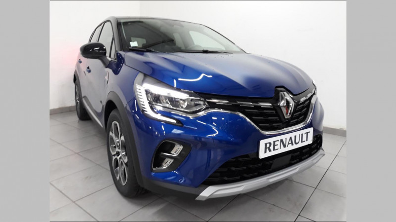 Renault Captur 1.5 Blue dCi 115ch Intens EDC Noir occasion à QUIMPER