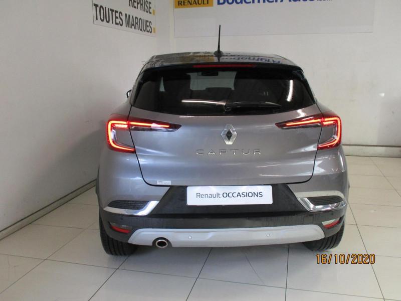 Renault Captur 1.5 Blue dCi 115ch Intens EDC Noir occasion à PLOUMAGOAR - photo n°4