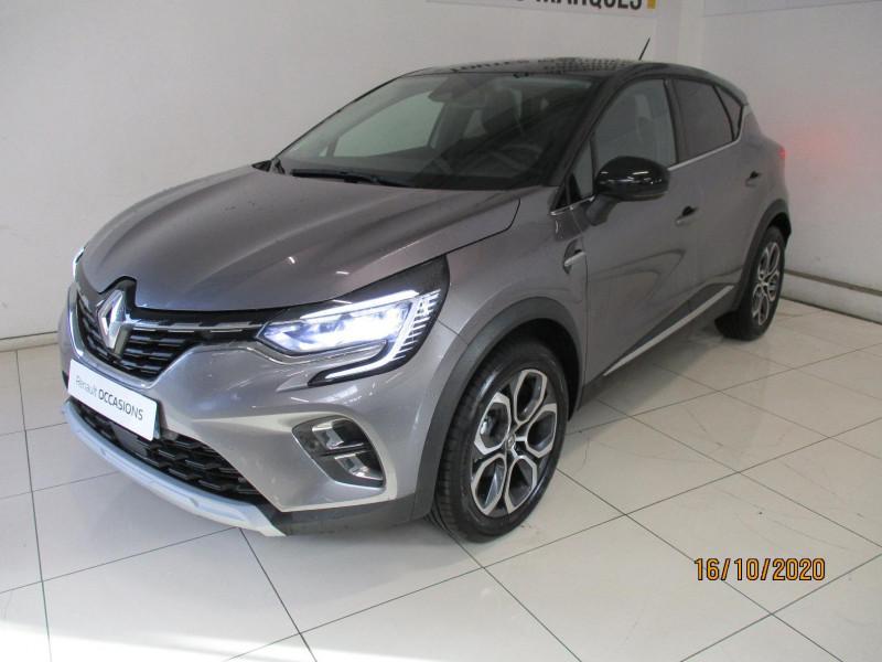 Renault Captur 1.5 Blue dCi 115ch Intens EDC Noir occasion à PLOUMAGOAR