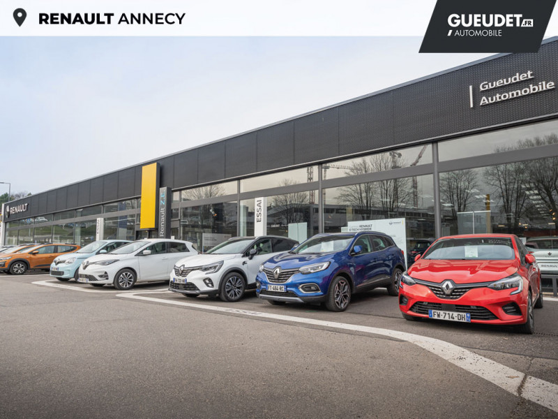 Renault Captur 1.5 Blue dCi 115ch Intens EDC Blanc occasion à Seynod - photo n°17