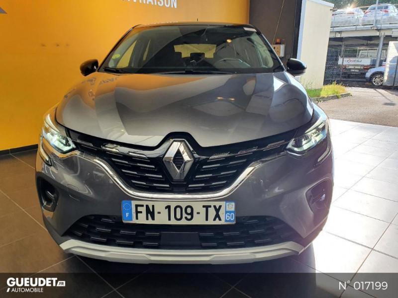 Renault Captur 1.5 Blue dCi 115ch Intens EDC Gris occasion à Saint-Maximin - photo n°2
