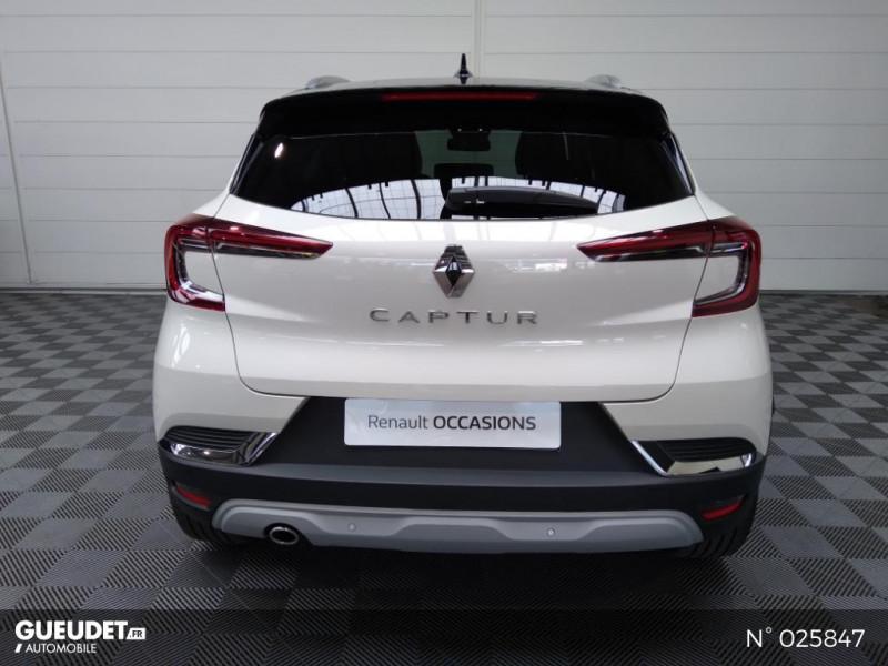 Renault Captur 1.5 Blue dCi 115ch Intens EDC Blanc occasion à Seynod - photo n°3