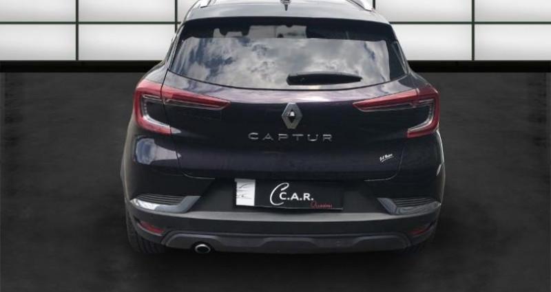 Renault Captur 1.5 BLUE DCI 115CH Noir occasion à La Rochelle - photo n°4