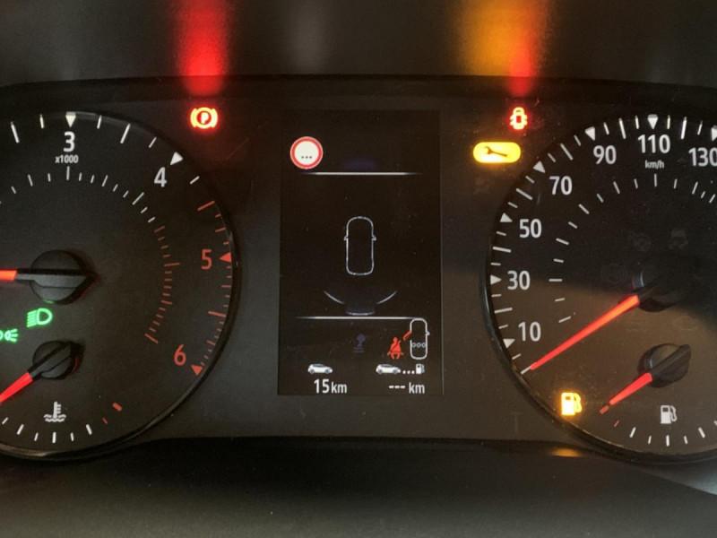 Renault Captur 1.5 Blue dCi  95 ch  Zen + options Blanc occasion à Lormont - photo n°11