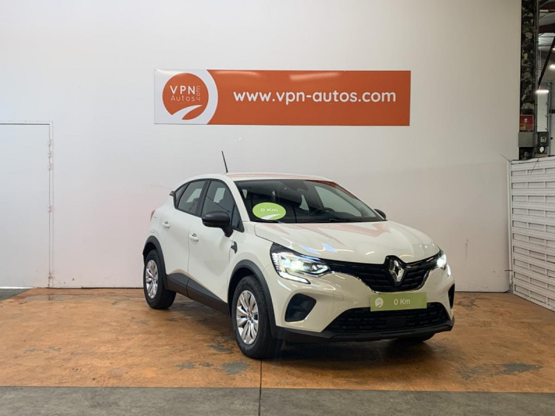 Renault Captur 1.5 Blue dCi  95 ch  Zen + options Blanc occasion à Lormont