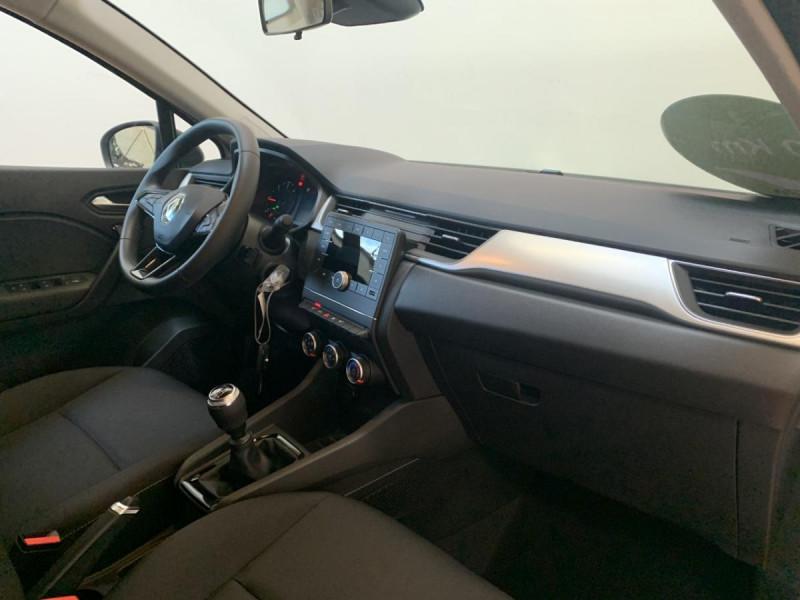 Renault Captur 1.5 Blue dCi  95 ch  Zen + options Blanc occasion à Lormont - photo n°6
