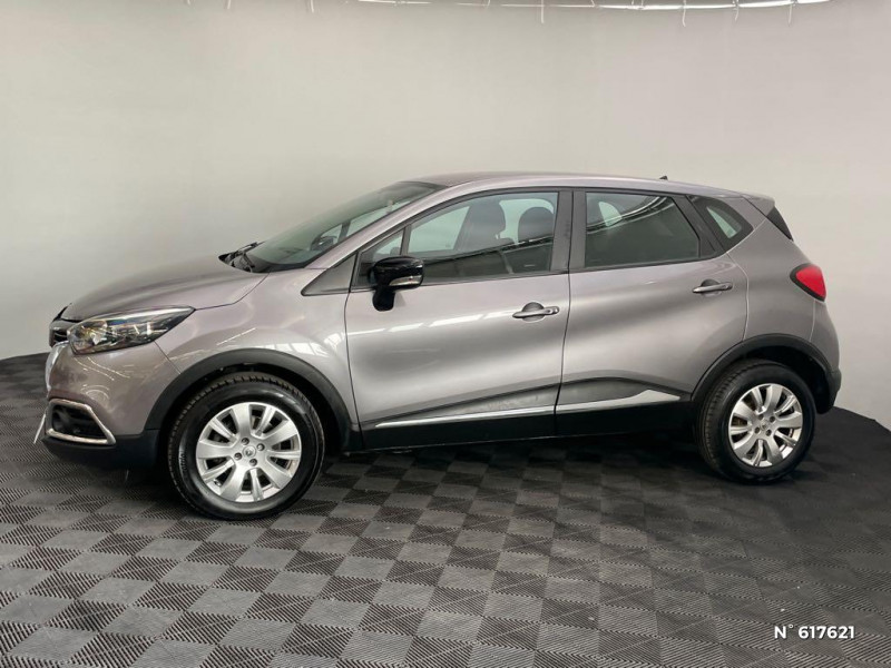 Renault Captur 1.5 dCi 110ch Stop&Start energy Business Eco² Euro6 2016 Gris occasion à Rivery - photo n°8