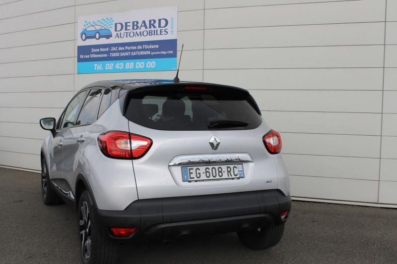 Renault Captur 1.5 DCI 110CH STOP&START ENERGY INTENS EURO6 2016 Gris occasion à Saint-Saturnin - photo n°7