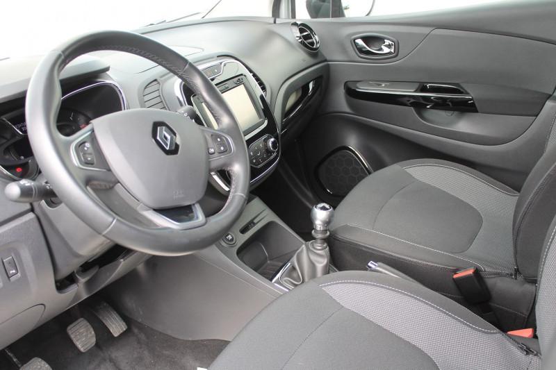 Renault Captur 1.5 DCI 110CH STOP&START ENERGY INTENS EURO6 2016 Gris occasion à Saint-Saturnin - photo n°8
