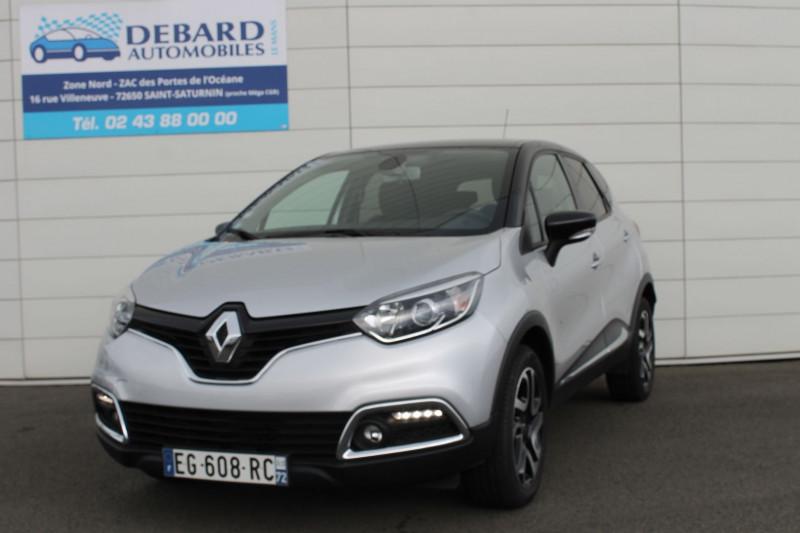 Renault Captur 1.5 DCI 110CH STOP&START ENERGY INTENS EURO6 2016 Gris occasion à Saint-Saturnin - photo n°4