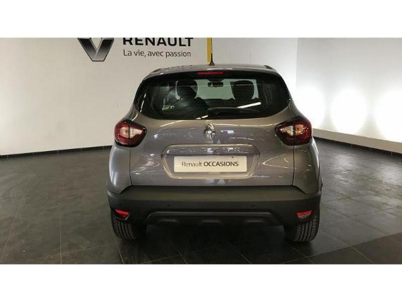 Renault Captur 1.5 dCi 90ch energy Business EDC Euro6c Gris occasion à Figeac - photo n°4